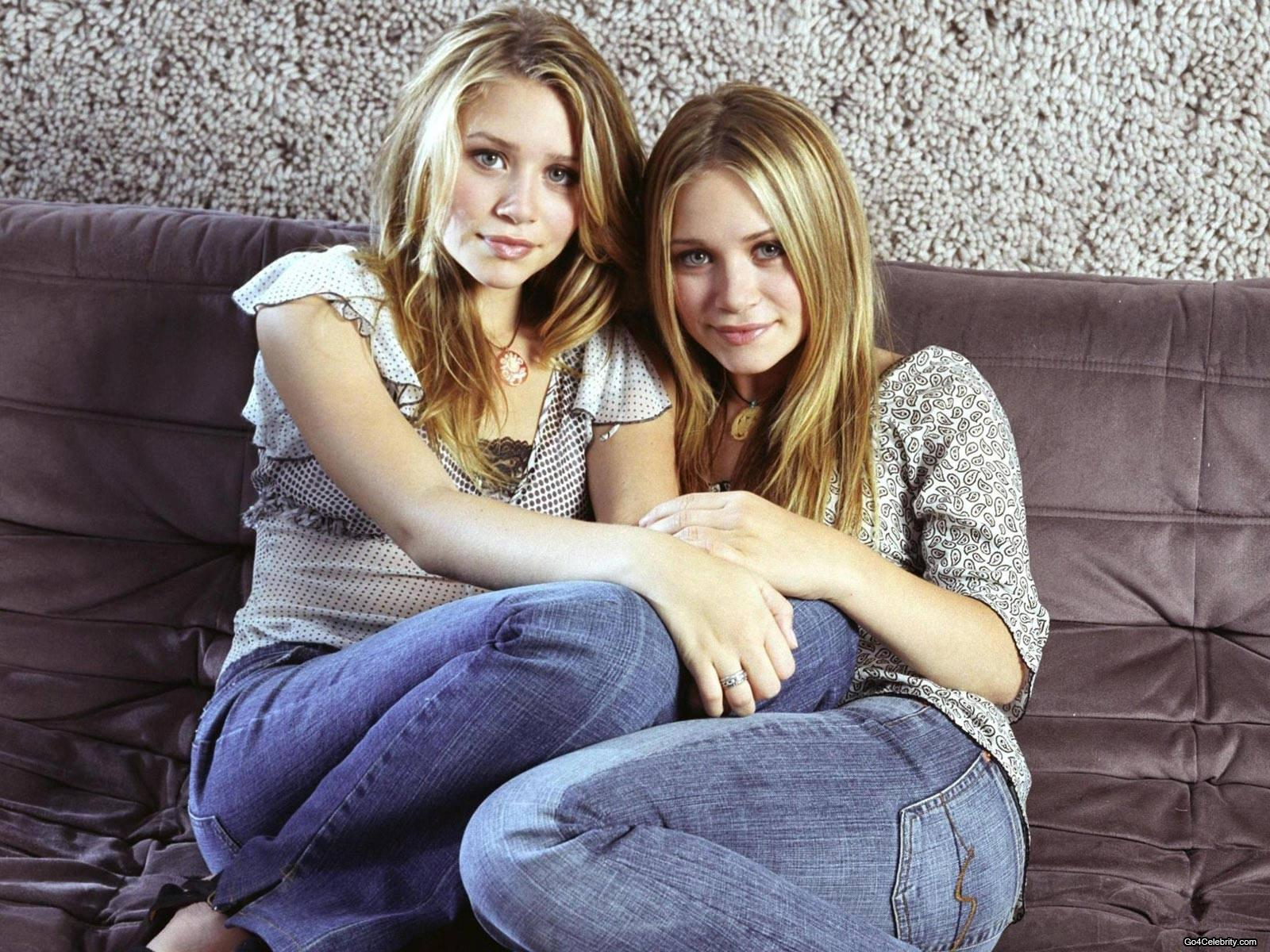 This Mary kate and ashley olsen twins hot and what