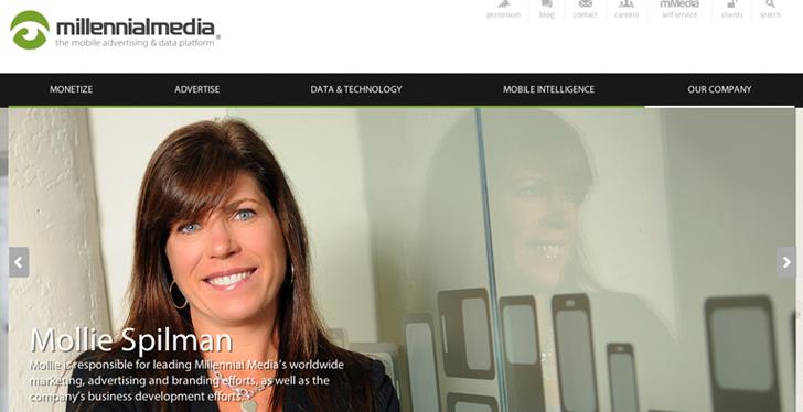 Mollie Spilman,Millennial Media, Yahoo, Mayer,Marissa Mayer, Baltimore Startup,Startup,Startups,startup acquisition