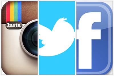 Facebook Twitter Instagram Snapchat