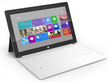 Microsoft Surface, Microsoft, RIM, Tablet sales