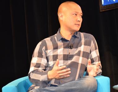 Tony Hsieh, Scott Case, Eureka Park, CES 2013,