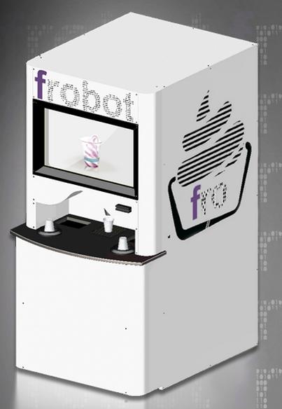 froyo vending machine