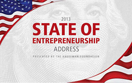 Kauffman Foundation, State of Entrepreneurship, DC startup, startup event