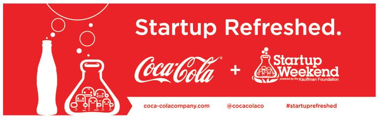 Startup Weekend, Coca Cola,Startup News