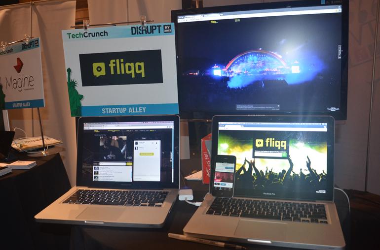 Fliqq,NY Startup,TechCrunch Disrupt,Wyclef