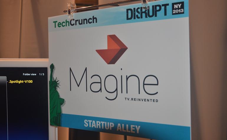 Magine,Swedish startup,cable tv,TechCrunch Disrupt