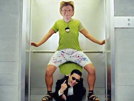 Bill Gates Polio Bill Gates Psy Gangnam Style