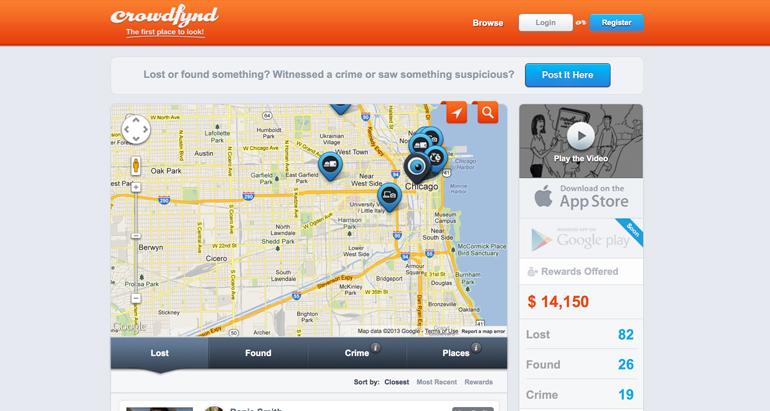 TechCrunch Disrupt,Crowdfynd,Chicago startup