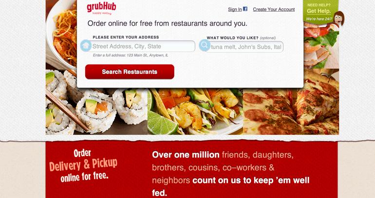 GrubHub,Seamless, Chicago Startup,New York startup