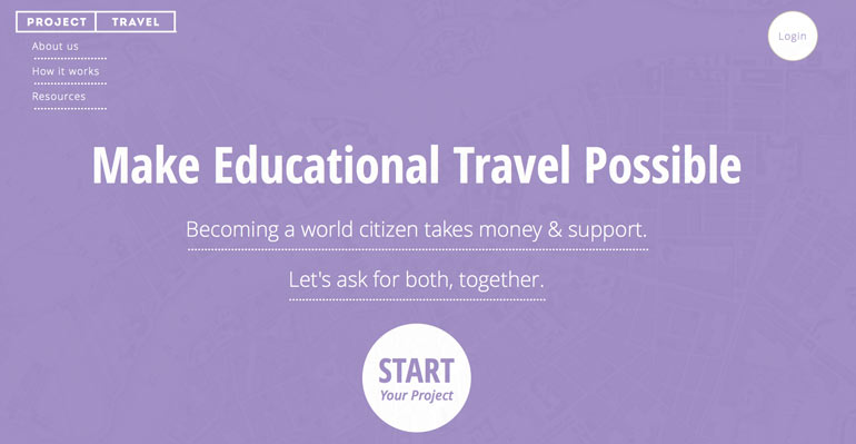 ProjectTravel,Chicago Startup,Startup Launch