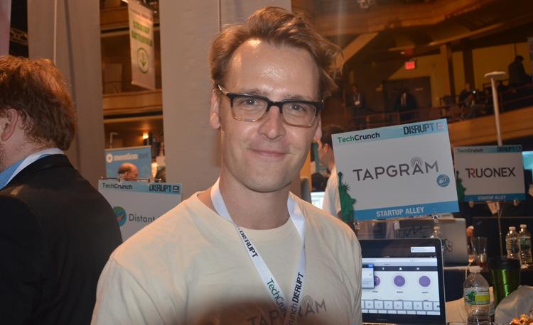 TapGram,NY Startup,TechCrunch Disrupt