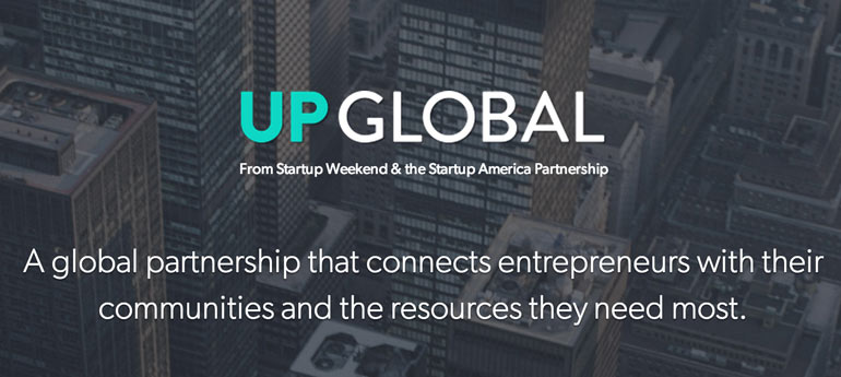 Up Global, Google for entrepreneurs, startup weekend, startups
