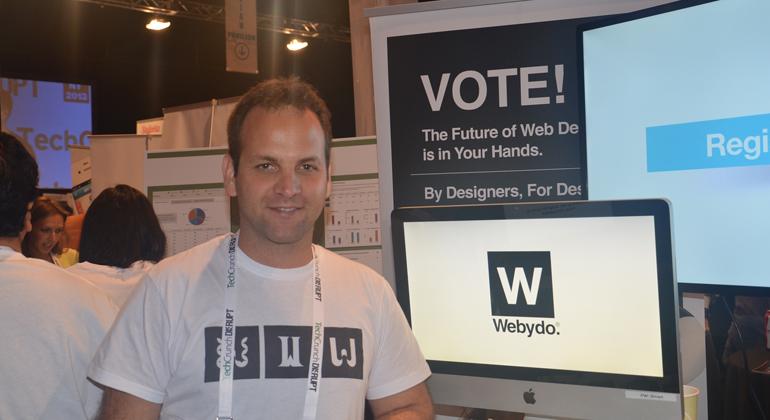 Webydo,Israeli startup,TechCrunch Disrupt,Startup Interview