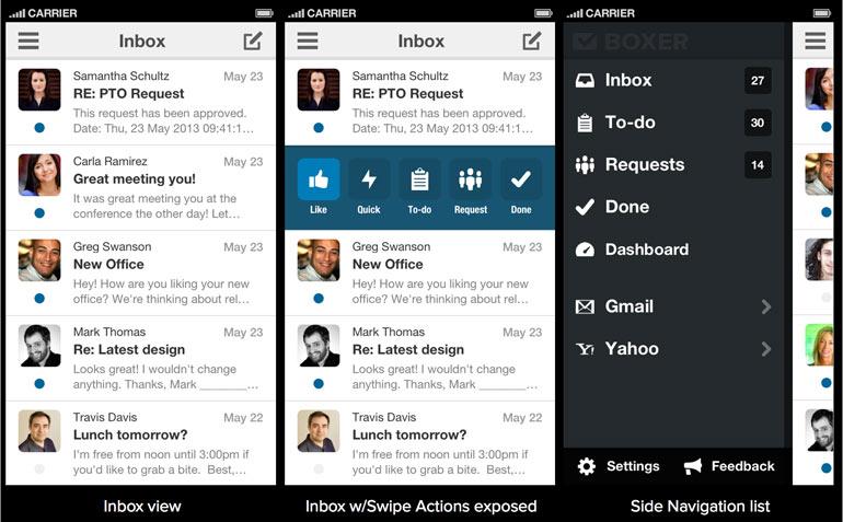 Boxer, Taskbox, Austin startup, Mailbox app, sxsw, relaunch, startup launch