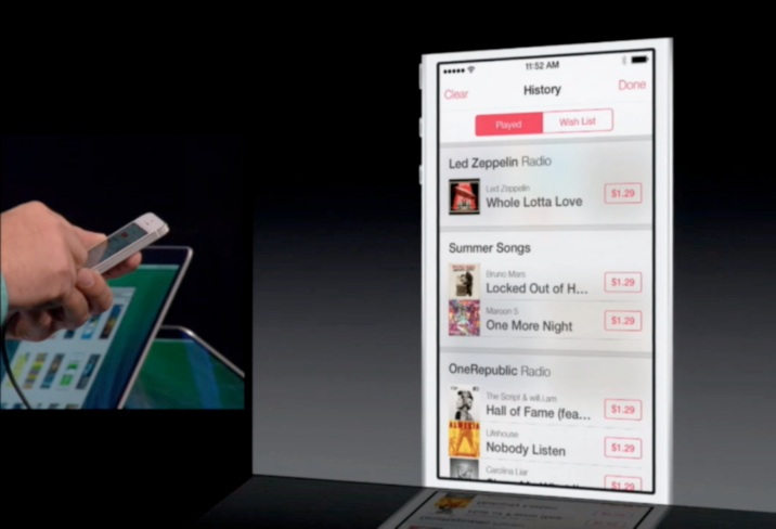 iTunes Radio, Pandora, Apple, WWDC, iOS