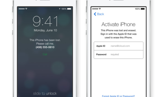 Apple, iOS, WWDC, Activation lock