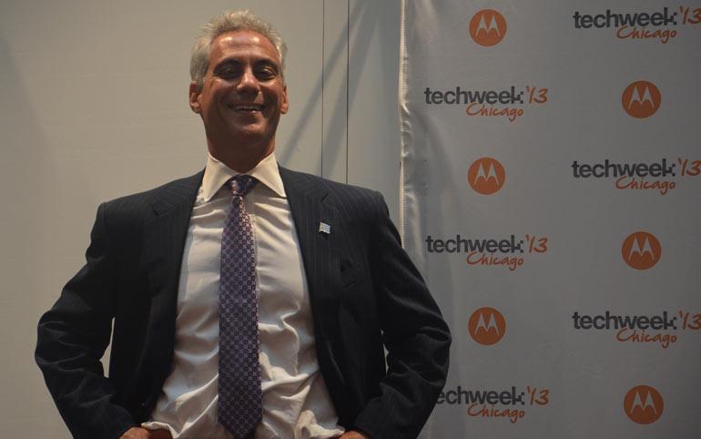 Mayor Rahm Emanuel, Chicago Startup,Chicago TechWeek,