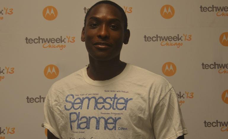 Semester Planner, Marcell Purham, Chicago Startup, Chicago TechWeek
