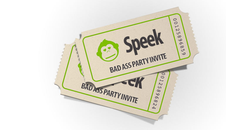 Speek, DC Startup,startup launch, startup party