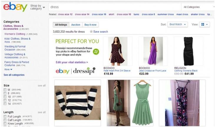 Ebay, Ebay UK, Dressipi, UK Startup