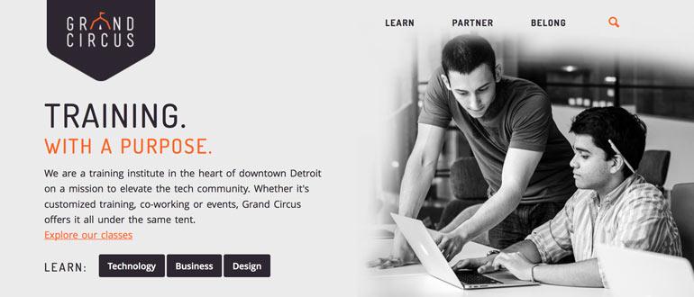 GrandCircus, DVP, Detroit startup,startups, startup interview