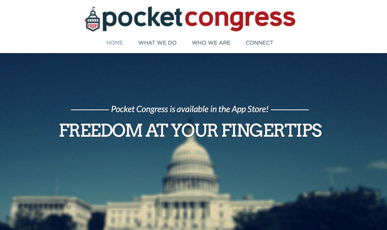 PocketCongress, Nashville startup, startup interview