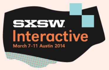 SXSWi 2014, Austin Kleon