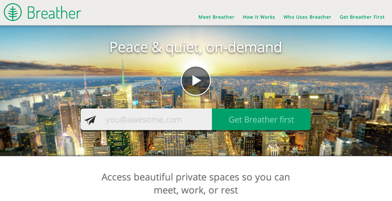 New York startup, Breather, startup interviews, Tony Monteleone