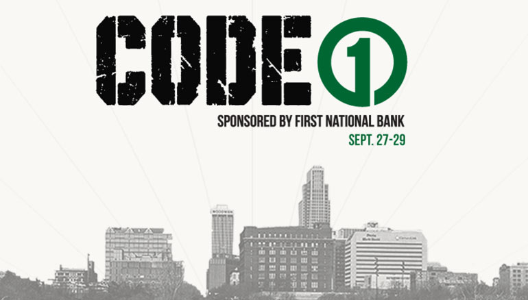 CodeOne, First National Bank of Omaha, Straight Shot, Hackathon, Startups, Nebraska Startup, Code Crush