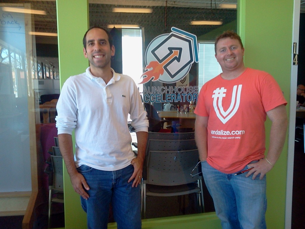 Todd Goldstein (l) and Dar Caldwell (r), co-founders of LaunchHouse