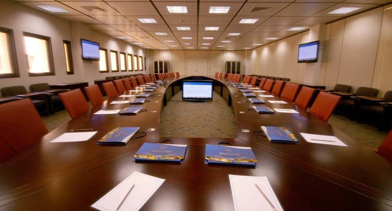 Board room, board meeting, board members, startups
