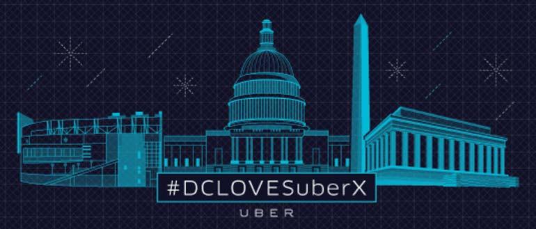 Uber, DC startup, furlough, shutdown, startups