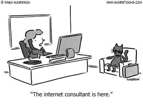 tech cartoon