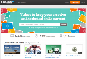 Online education with Skillfeed