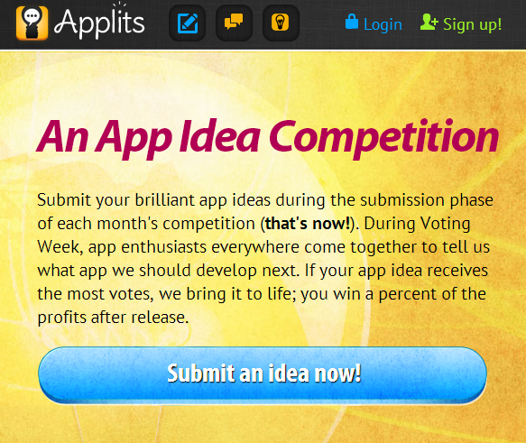 App idea competition