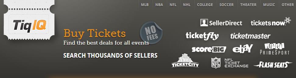 Kayak.com for tickets