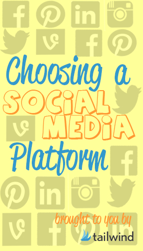 Choosing-a-Social-Media-Platform