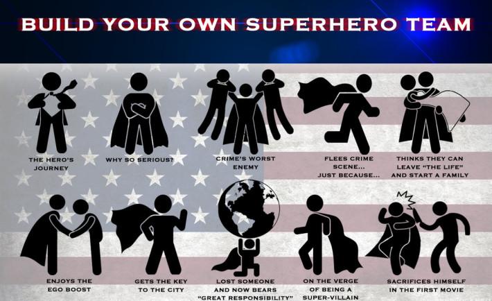 superhero tema